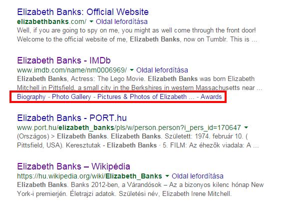 elizabeth banks rich snippets