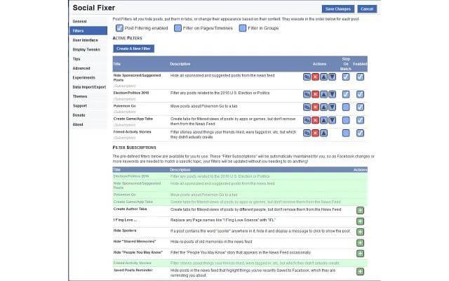 A Social Fixer az egyik legnagyobb segítség a böngésző bővítmények között