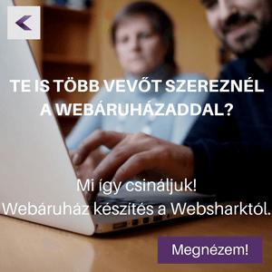 Webáruház készítés Webshark