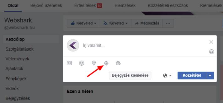 A Facebook-célzás beállítása