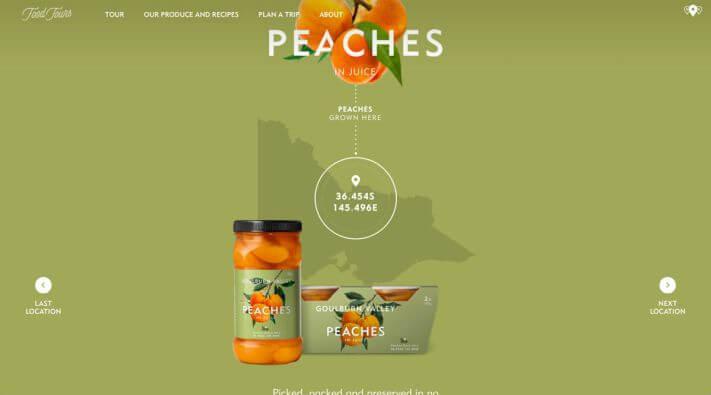 Narancssárga és zöld színek használata a weboldalon
