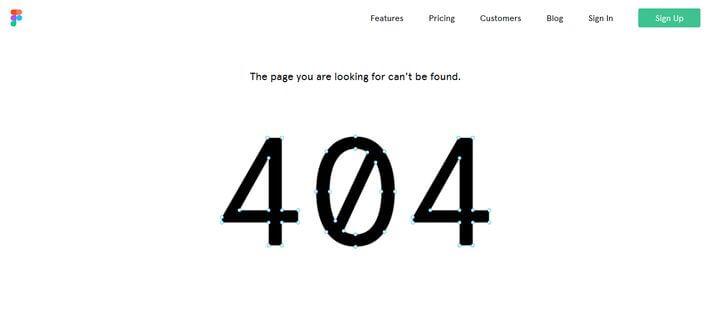 Egy kis interaktivitás a Figma 404-es oldalán
