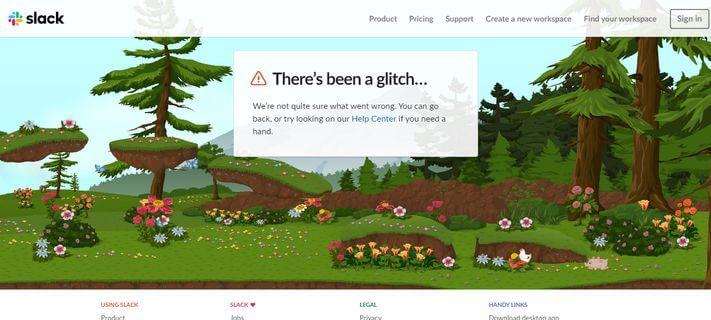 Játékos 404-es oldal