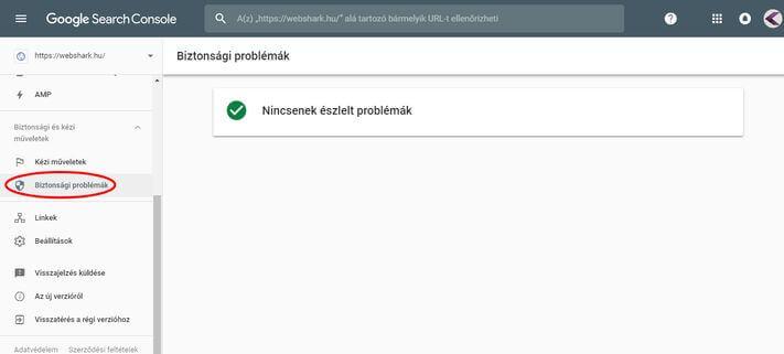 Biztonsági problémák az új Search Console-ban