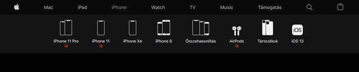 iPhone kategóriaoldal
